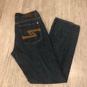 7 for all mankind premium jeans size 33